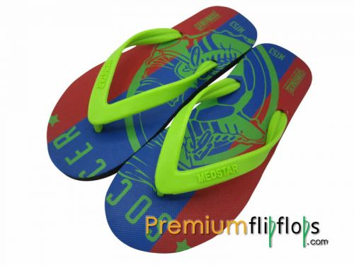 Unisex Soccer Boot Screen Flip Flops